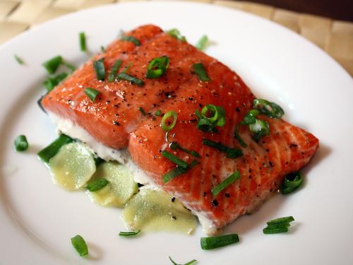 Salmon -Numerous Health  Benefits source Flickr