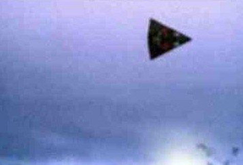 "In the U.K, there are three reported sightings of ""Dorrito"" shaped ufo sightings in 2010"