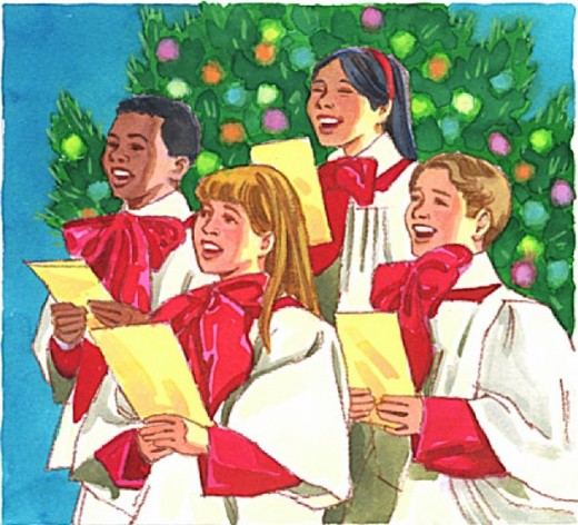 """""""Deck the halls with boughs of holly..."""""""