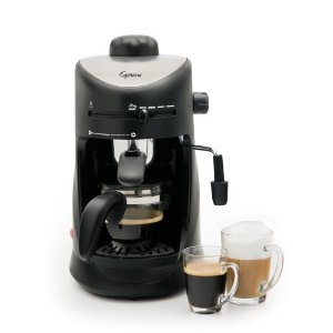 #4: Capresso 303.01 4-Cup Espresso and Cappuccino Machine