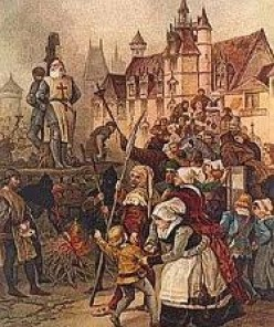 The Execution of Jacques de Molay