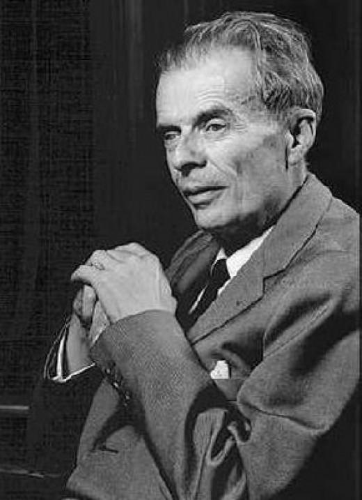 "Aldous Huxley 1894 - 1963 Author ""Brave New World"""