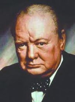 Sir Winston Churchill 1874 - 1965 Former Prime Minister, Great Britain