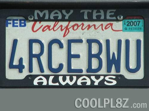 License plates give travelers plenty of game options. This vanity plate is easy to decipher, but what about the other vanity plates on the road?