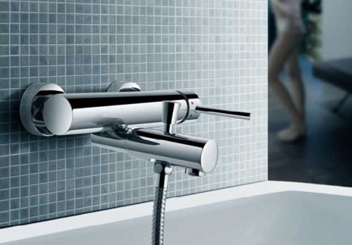 Wall Mount Tub Filler