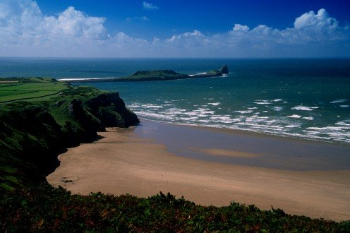 Rhosilli Beach, Gower Coast, Wales