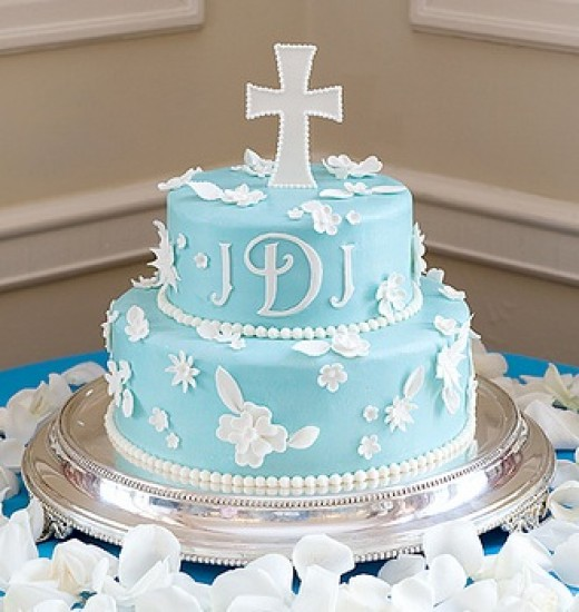 Christening cakes on Pinterest Baptism Cakes ...