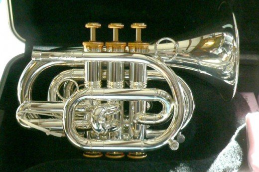 The CPT-300LR Carol Pocket trumpet