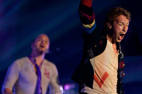Chris Martin of ColdPlay - L.A. Forum