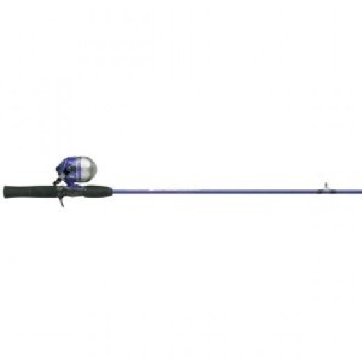 Shakespeare Two-Piece Medium Action Spectrum Spincast Combo (5-Feet 6-Inch, Colors May Vary)