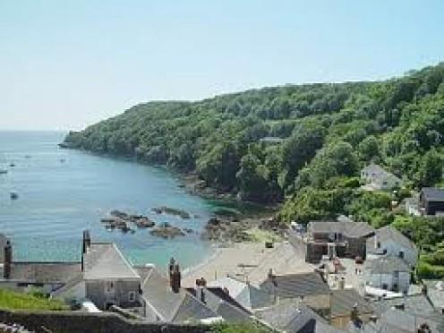 Kingsand Bay, Cornwall, UK