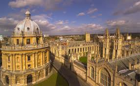 The Bodleian Library & University Buildings of Oxford.