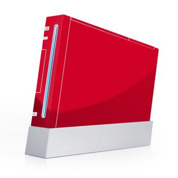 Red Nintendo Wii