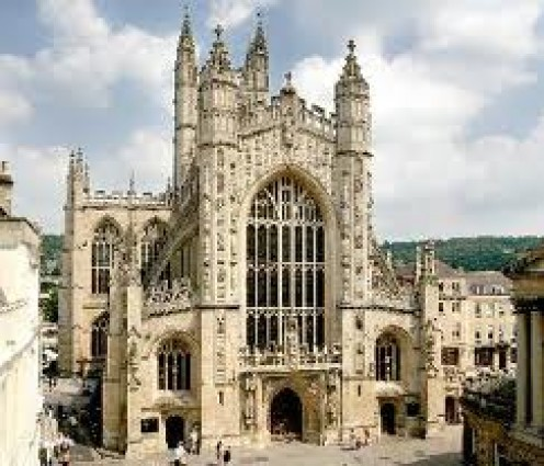 Bath Abbey, Somerset, UK