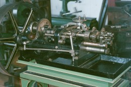 """Robbins & Lawrence designed machines for in-house work and for sale to other armories.  This is a grinder with multiple rotary cutters.  (Grinders didn't actually """"grind."""")"""