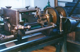 A rifling machine made by Robbins & Lawrence in 1851 show how advanced this machinery was at the time.  I would have looked quite normal in a machine shop a century later.