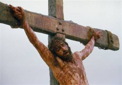There They crucified Him!