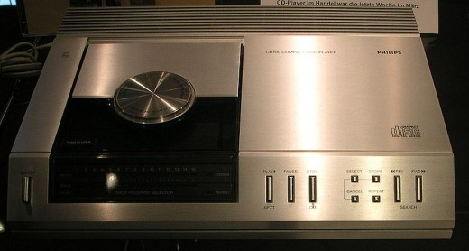 Phillips CD Player. This was compact??