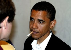 Is Obama the only President that Smoked?