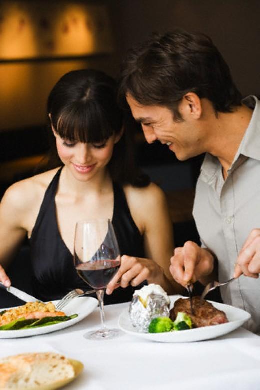 8.) Romantic Dinner