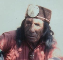 John Lame Deer, the author of the book being discussed in this article.  He is Lakota.