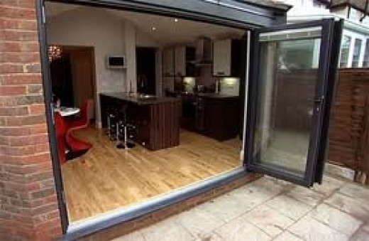 Folding Glass Doors 520 x 339