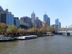 Writing to you from the lovely city of Melbourne, Australia!