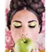 Зеленый макияж - создаем образ нимфы.