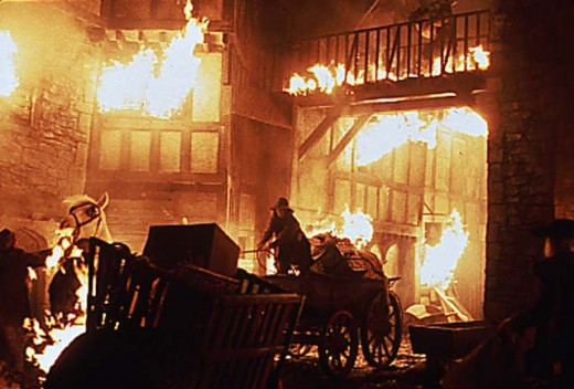 The Great Fire of London sparked a home insurance boom from 1666.