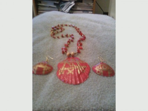how to make shell jewelry