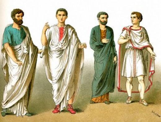 Italiaanse mode : de romeinen