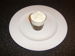Cream Spread over the Coffee and Rum Jelly