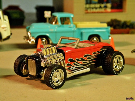 A Hot Wheel Miniature Car