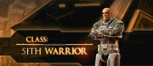 Star Wars the Old Republic starting as a Sith Warrior