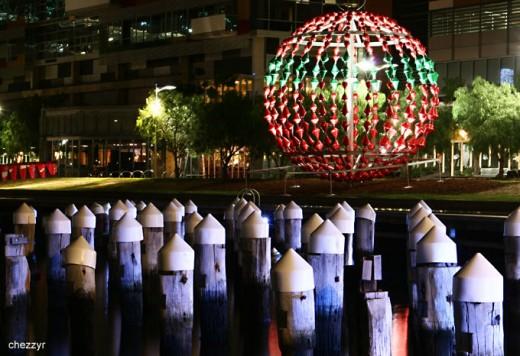 Christmas in Melbourne Docklands