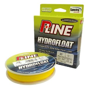 150 Yds. P - Line Hydrofloat Braided Line Hi - Viz Yellow
