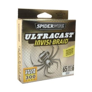 Spiderwire ULTRACAST INVISI-BRAID 65lb Test 300 yds New