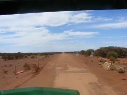 We're out to find a mine site 100 k's to the Nor East