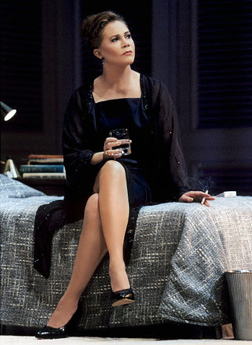 Playing Ms. Robinson on broadway in 'The Graduate'