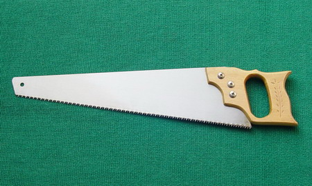Hand wood saw