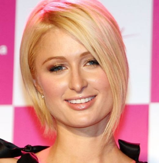 paris hilton tattoos. Paris Hilton Inverted Bob Haircuts