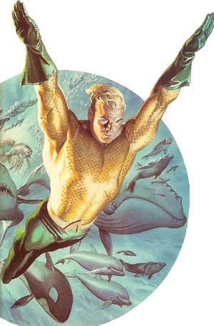 Classic Aquaman by Alex Ross