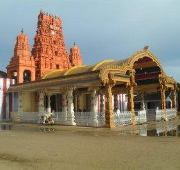 Nallur Kovil in Jaffna, a popular religious destination for hindus