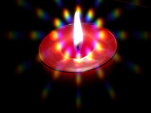 A Poem A Candle Burning Bright