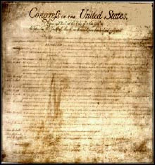 Original copy of the Bill of Rights