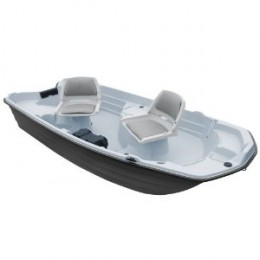 KL Industries Water Quest Basstendert Fishing Boat (10.2-Feet)