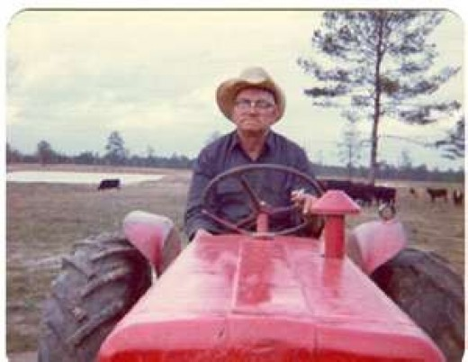 """What I aspire to do in my old age...is sit from my tractor and see how the day progresses!"" Says MPM"