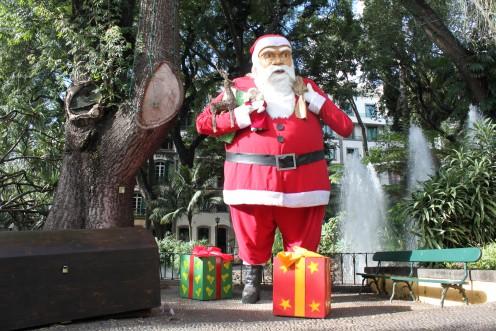 A Huge Santa