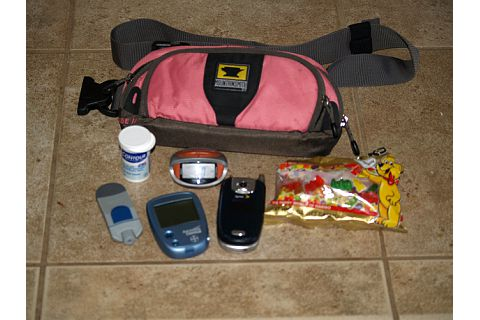 Some of the supplies needed each day for a Type 1 diabetic patient