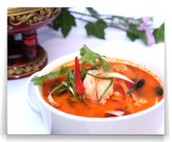 Thai Food Recipe - How To Make Tom Yam Spicy Hot & Sour Soup